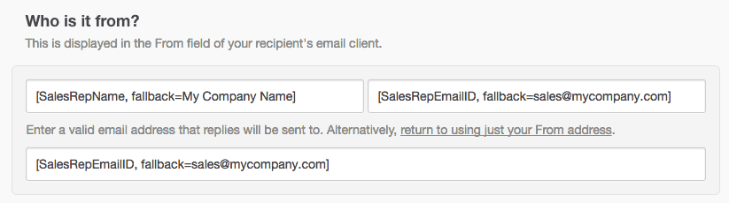 Smart transactional email variables | Campaign Monitor